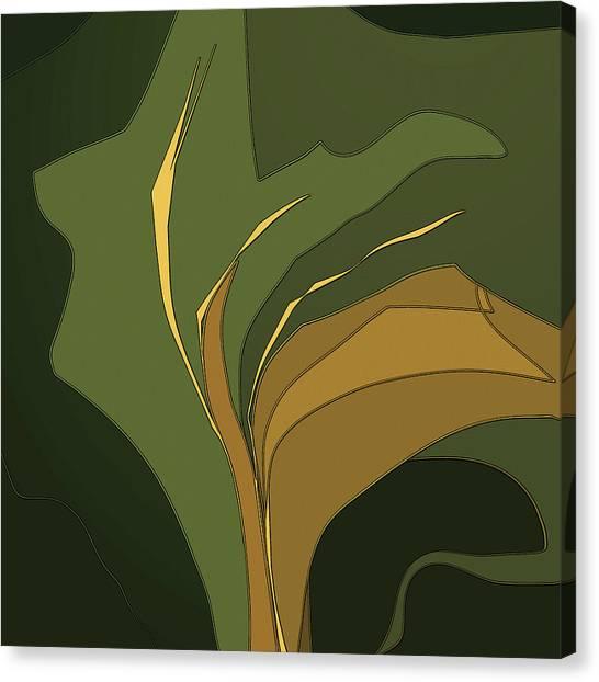 Deco Tile Canvas Print