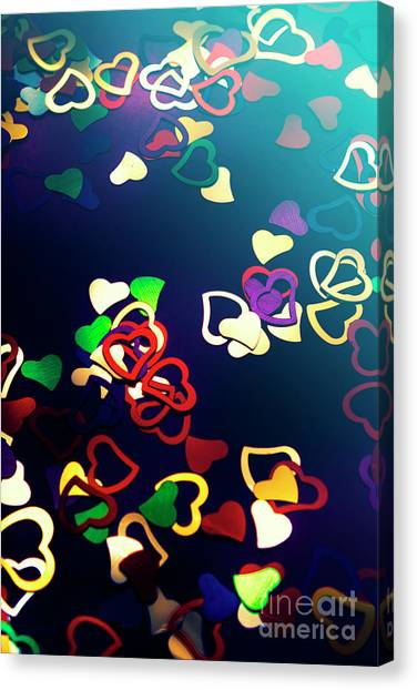 Nobody Canvas Print - Decorations In Romance by Jorgo Photography - Wall Art Gallery