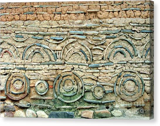 decorative architecture photographs - Korean Wall Canvas Print