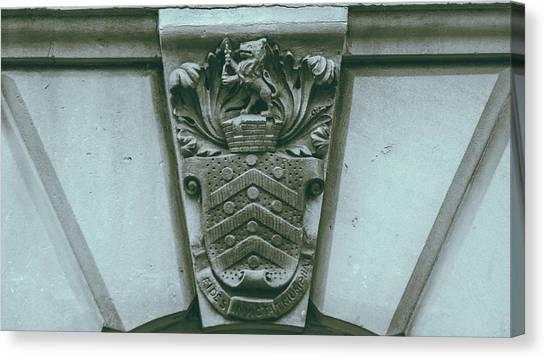 Decorative Keystone Architecture Details C Canvas Print