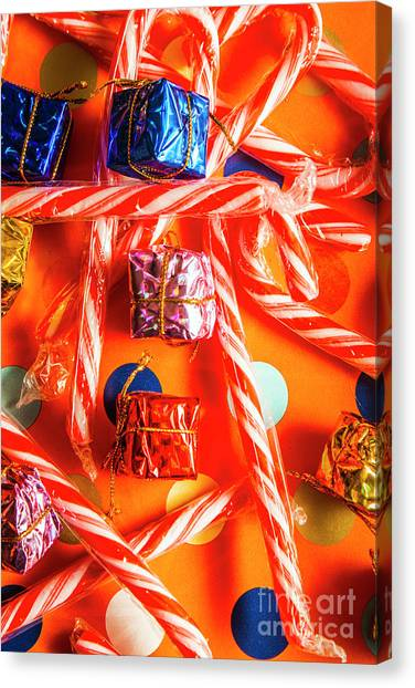 Present Canvas Print - Decorative Xmas by Jorgo Photography - Wall Art Gallery