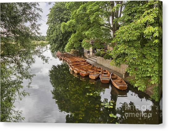 Dedham Canvas Print - Dedham Vale Suffolk by Colin and Linda McKie