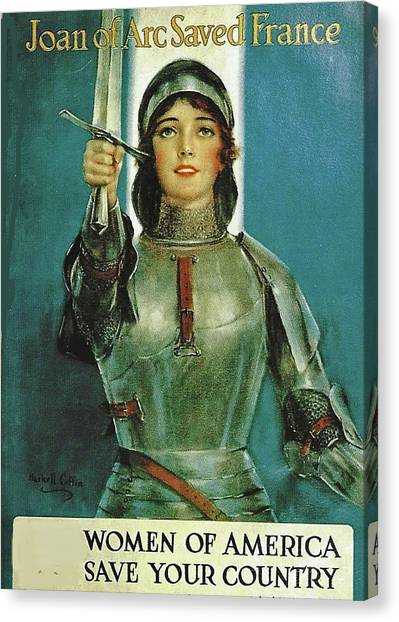 Dedicated To The Women Canvas Print