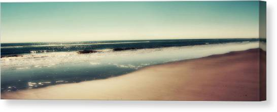 Oversized Canvas Print - Deep Blue Sea Panoramic by Amy Tyler