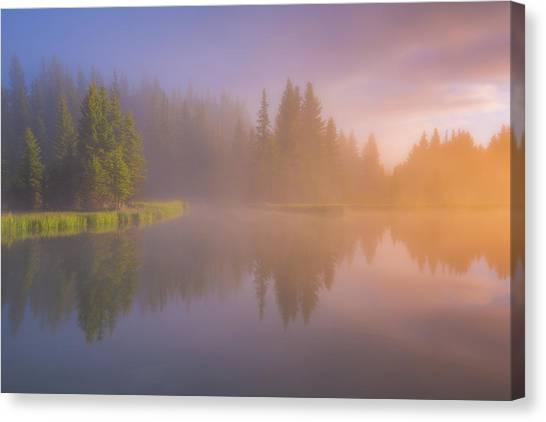 Breathe Canvas Print - Deep Breath by Darren White