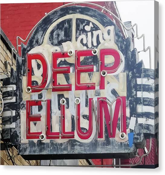 Deep Ellum Dallas Texas Canvas Print