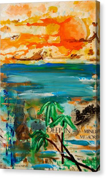 Deep In Mind Memory Canvas Print by Nathan Paul Gibbs