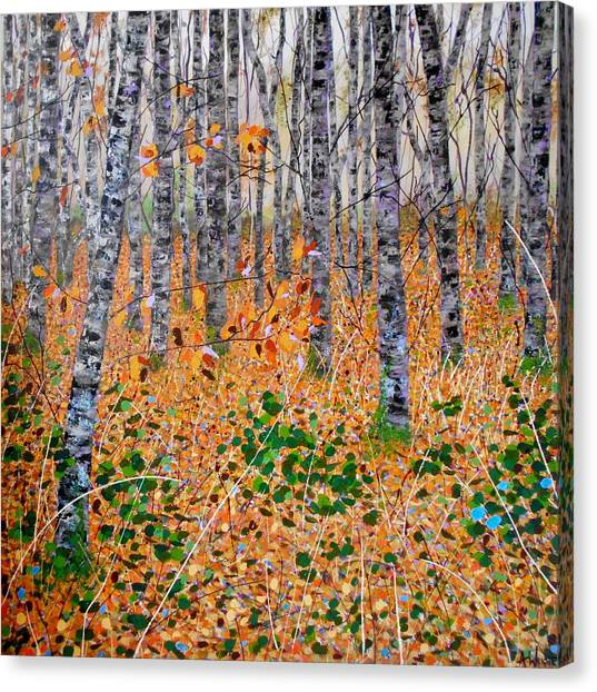 Deep In The Woods- Large Work Canvas Print