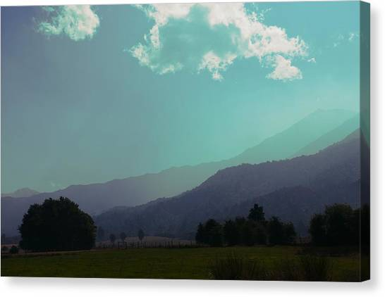 Canvas Print featuring the photograph Deep Layers by Ivana Westin