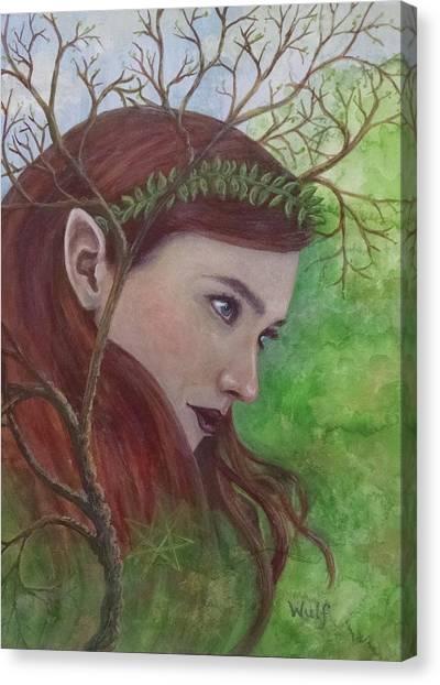 Deep Listening Canvas Print