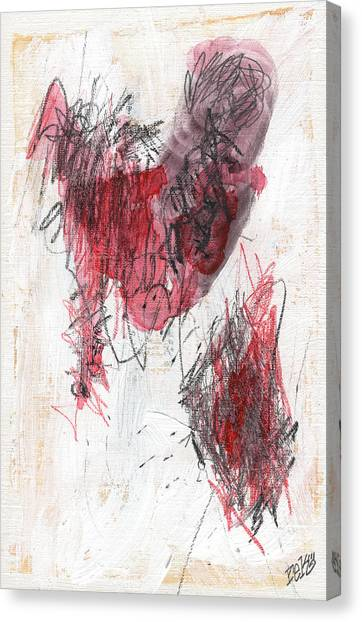 Deep Meat Canvas Print