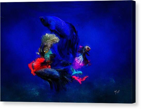 Deep Oceans Canvas Print
