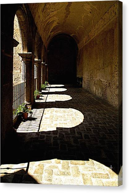 Deep Shadows Canvas Print by Mexicolors Art Photography