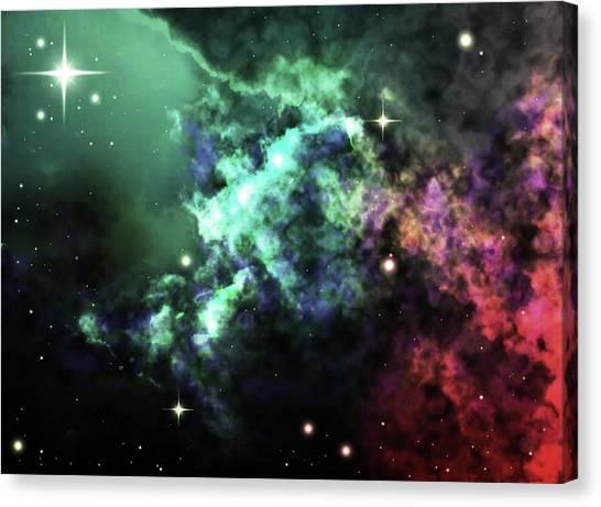 Deep Space Clouds I Canvas Print