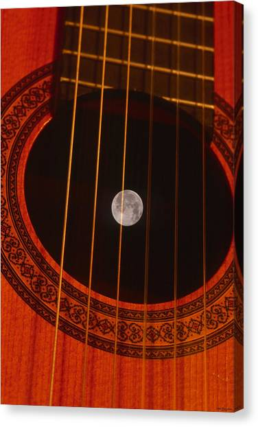 Classical Guitars Canvas Print - Deep Space by Soli Deo Gloria Wilderness And Wildlife Photography
