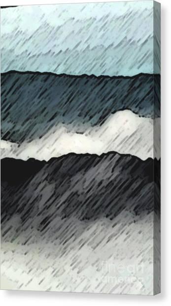 Deep Storm 1 Canvas Print by EGiclee Digital Prints