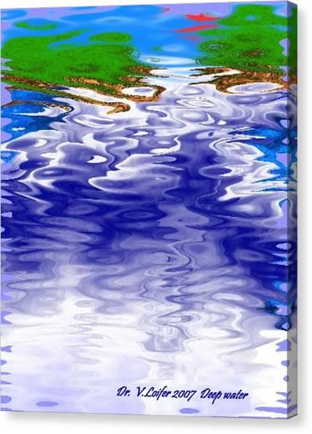 Deep Water Canvas Print by Dr Loifer Vladimir