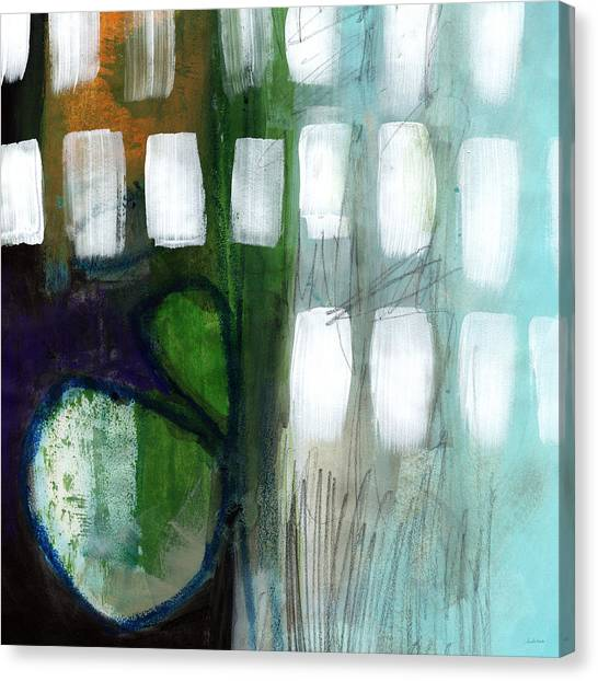 Circles Canvas Print - Deeper Meaning by Linda Woods