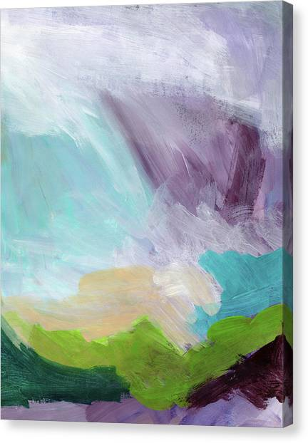 Landscape Canvas Print - Deepest Breath- Abstract Art By Linda Woods by Linda Woods
