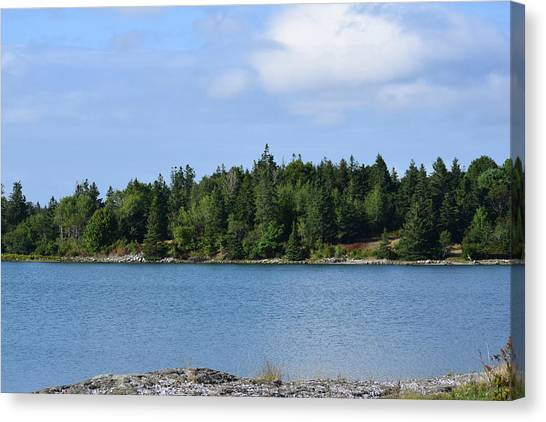 Deer Isle, Maine No. 5 Canvas Print