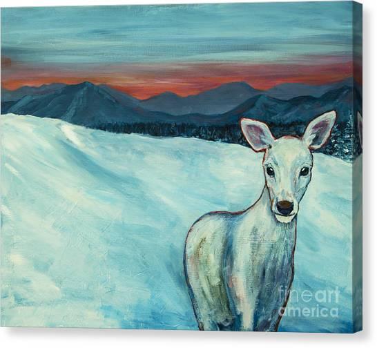 Deer Jud Canvas Print
