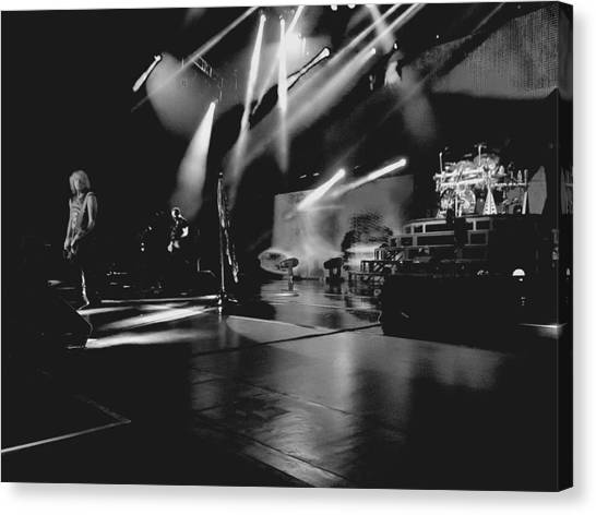 Def Leppard Canvas Print - Def Leppard At Saratoga Springs 2 by David Patterson