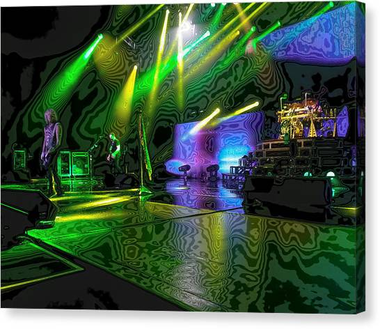 Def Leppard Canvas Print - Def Leppard At Saratoga Springs 3 by David Patterson
