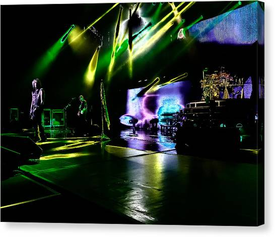 Def Leppard Canvas Print - Def Leppard At Saratoga Springs 4 by David Patterson