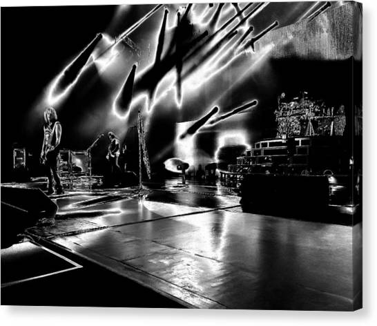 Def Leppard Canvas Print - Def Leppard At Saratoga Springs 5 by David Patterson