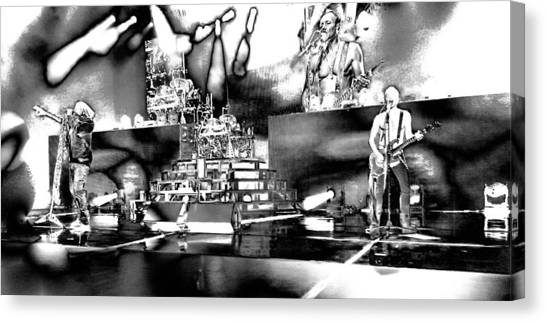 Def Leppard Canvas Print - Def Leppard At Saratoga Springs 6 by David Patterson