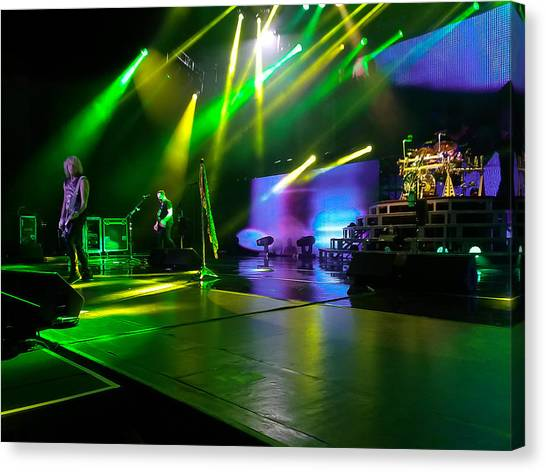 Def Leppard Canvas Print - Def Leppard At Saratoga Springs by David Patterson