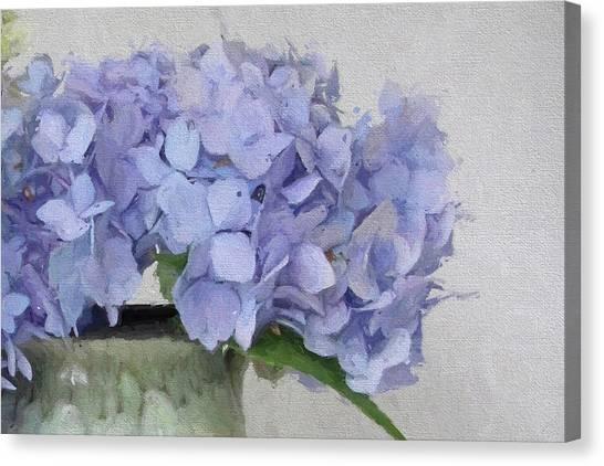Degas Hydrangea Canvas Print