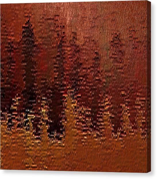 Degradation Canvas Print