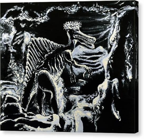 Deinos Sauros    Canvas Print