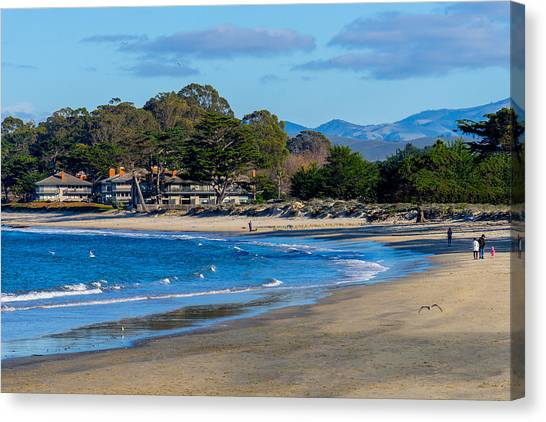 Del Monte Beach Canvas Print