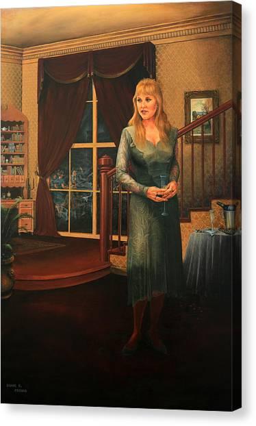 Delaina Canvas Print