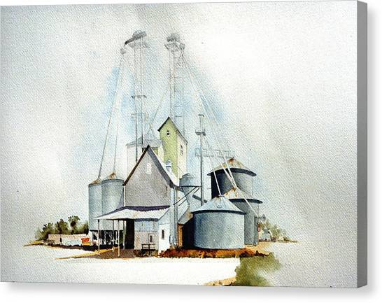 Delaware Grain Canvas Print by William Renzulli
