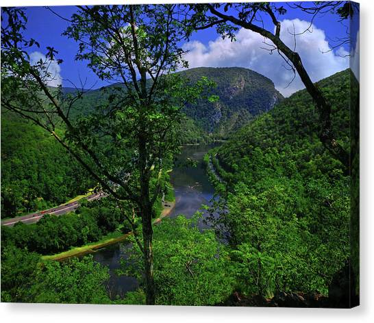 Delaware Water Gap Canvas Print
