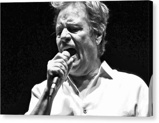 Delbert Mcclinton Sings The Blues Canvas Print