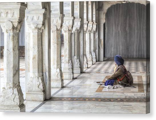 Yogi Canvas Print - Delhi - India by Joana Kruse