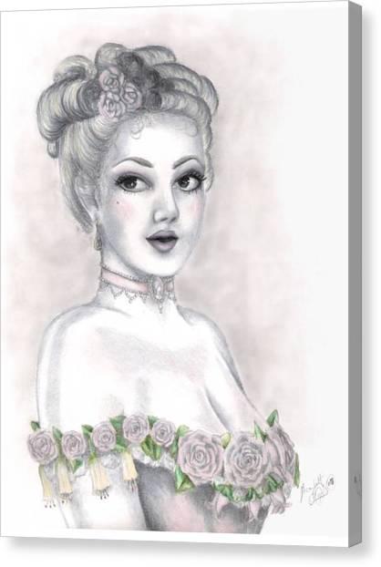 Delicate Beauty Canvas Print by Scarlett Royal