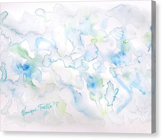 Delicate Elegance Canvas Print