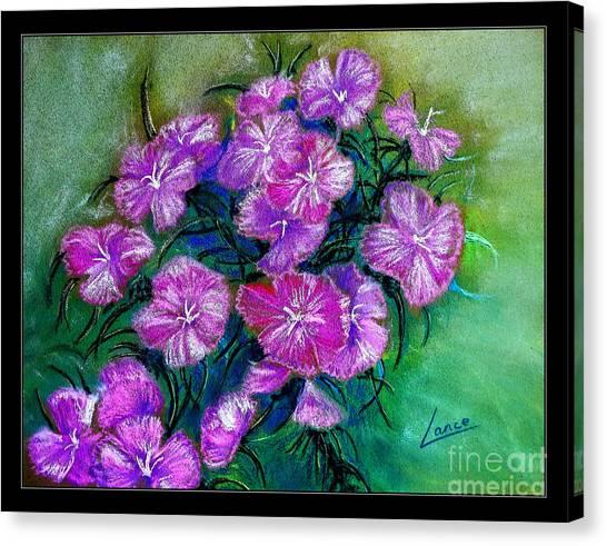 Delicate Pastel Canvas Print