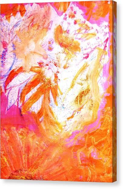 Canvas Print - Deliciously Orange by Anne-elizabeth Whiteway