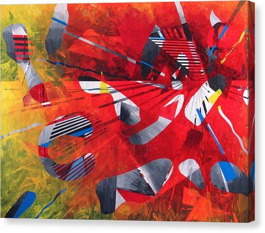 Delta Medley II Canvas Print by Rollin Kocsis