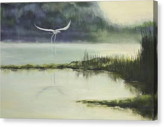 Delta Mist Canvas Print