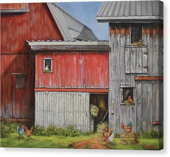 Deluxe Accommodations Canvas Print