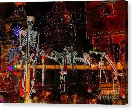 Dem Bones Canvas Print