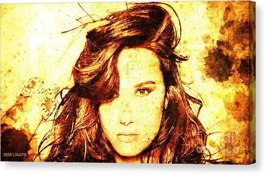 Dorable Demi Lovato Wall Art Picture Collection - Wall Painting ...
