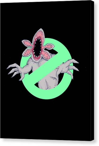 Ghostbusters Canvas Print - Demobusters by Ludwig Van Bacon